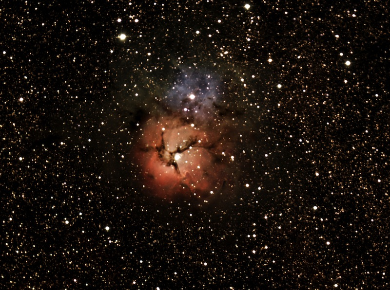 Astrophoto of the Month - The Trifid Nebula