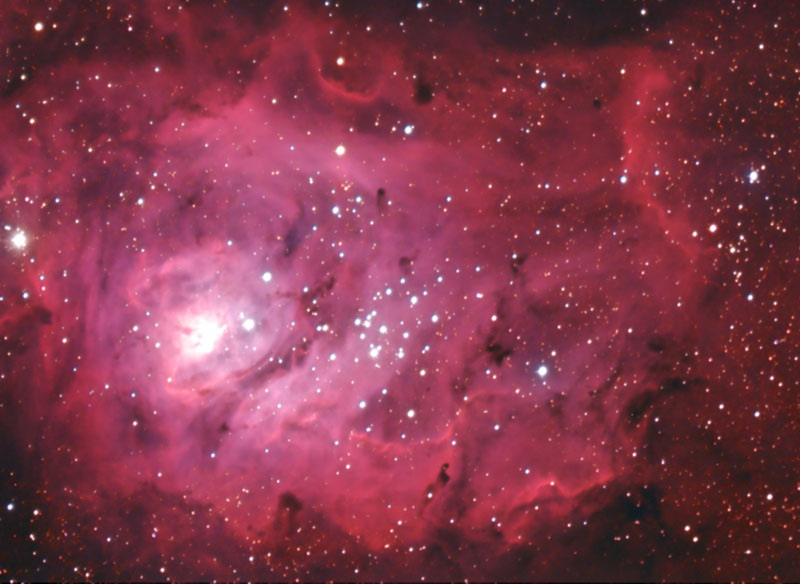 Astrophoto of the Month - Lagoon Nebula